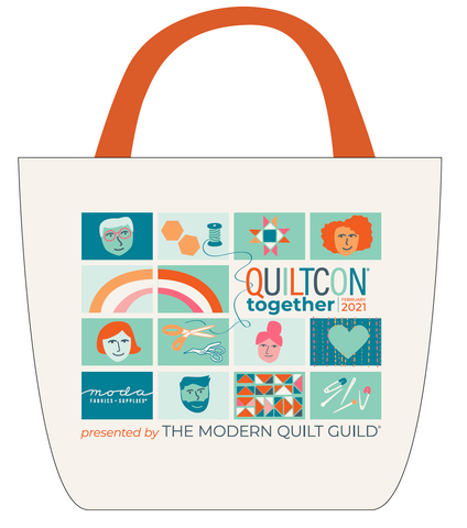QuiltCon Together Commemorative Tote Bag
