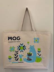 Limited Edition Sarah Watts + MQG Bear Tool Tote