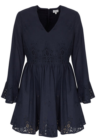 PS The Label - Enchanter Dress in Navy