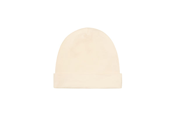 Ecru Organic Cotton Hat