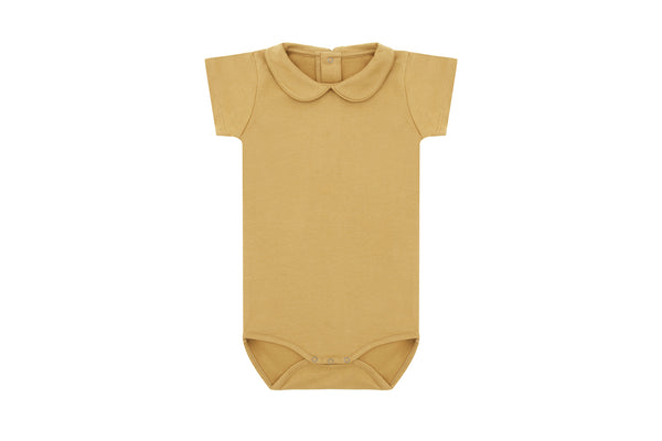 Clever Camel, Organic Cotton Collared Bodysuit