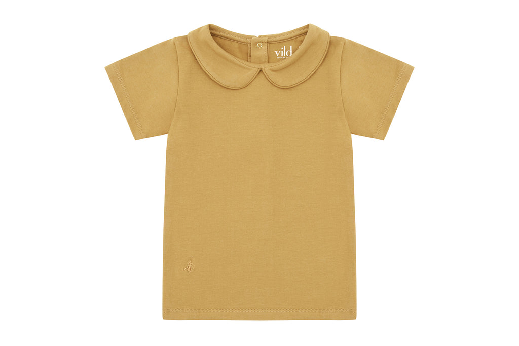 Clever Camel, Organic Cotton Collared Shirt