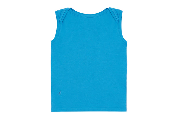 Sea Blue, Seacell Sleeveless Shirt