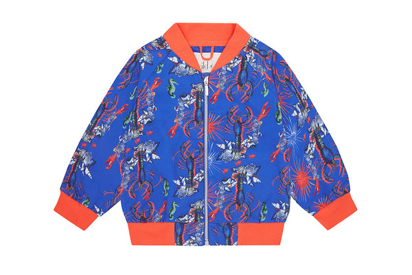 Vild Lab No.8 - Rare Living Lobsters, Organic Cotton Jacket
