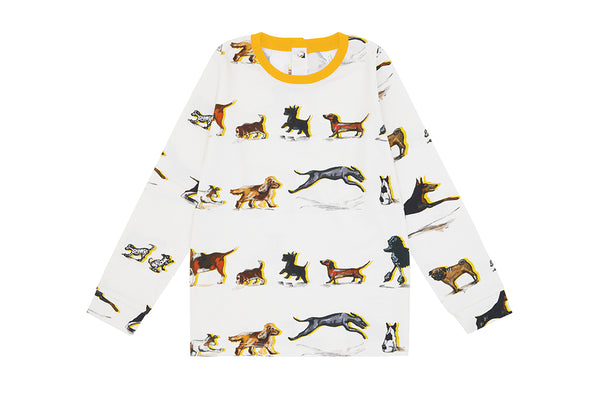 Vild Lab No.9 - Dog Family, Organic Cotton Shirt