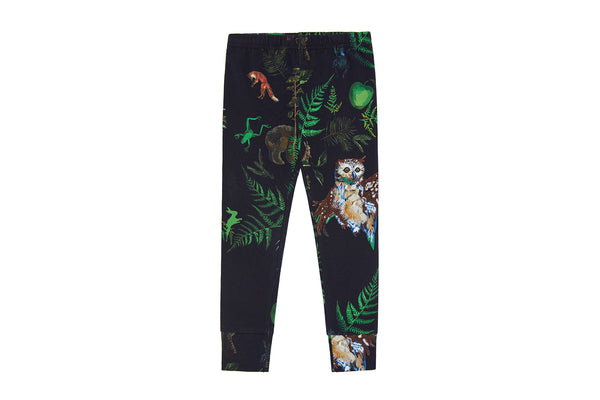 Vild Lab No.7 - Night Forest, Organic Cotton Leggings