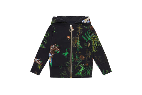 Vild Lab No.7 - Night Forest, Organic Cotton Hoodie