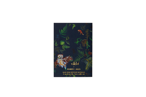 VILD x Romeo + Jules, 'Oh Baby It's a Wild World' Notebook