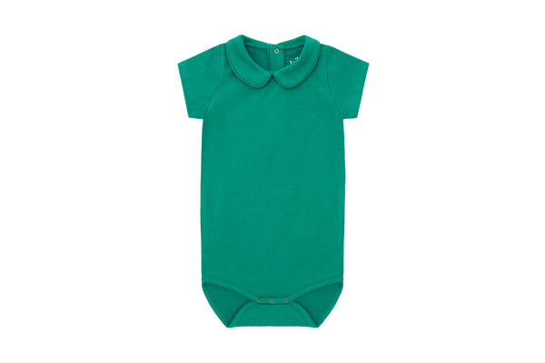Short Sleeve Collared Bodysuit - 3 Piece Gift Set