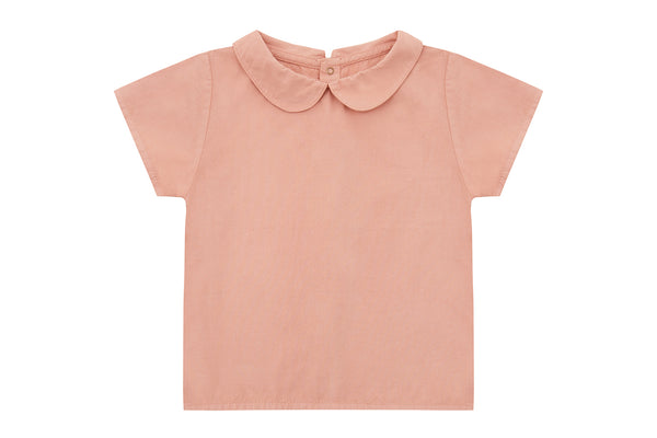 Lazy Pink, Organic Cotton Woven Collared Shirt and Bloomers - Gift Set