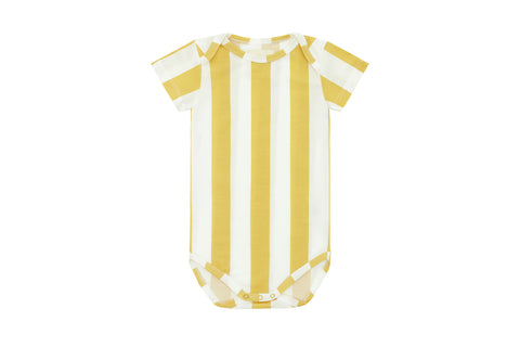 Yellow Striped, Tencel™ Bodysuit