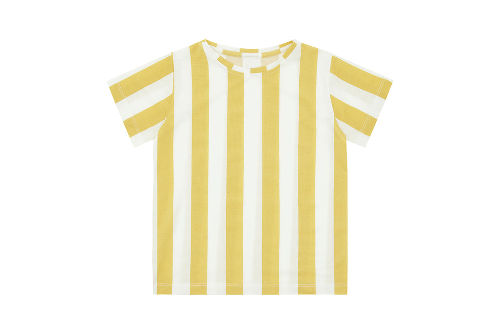 Yellow Striped, Tencel™ Shirt