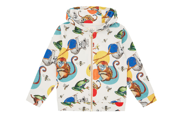 Vild Lab No.11 - Precious Wildlife, Organic Cotton Hoodie