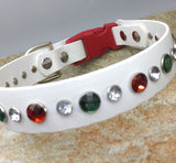 Holiday Collar with Crystals