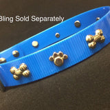 Personalized Dog Collar Bling is Sold Separately & Added to a Plain Collar