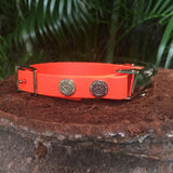 Side Release Adjustable Dog Collar Matte Finish
