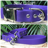 Custom Side Release Dog Collar Matte Finish