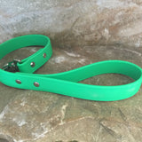Matte bright green leash