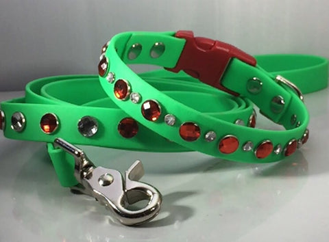 Bling Holiday Dog Collars