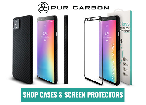 Google Pixel 4XL Case Aramid Fiber Pur Carbon Best
