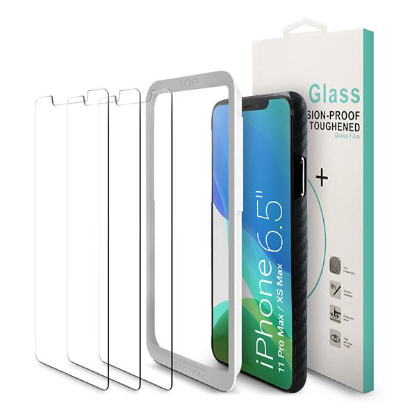 01 Three Pack iPhone 11 Pro Max iPhone XS Max Screen Protector