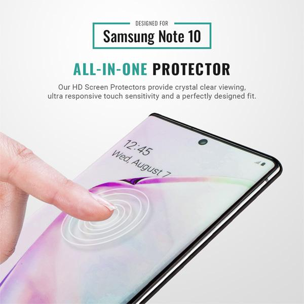 Samsung Galaxy Note 10 HD screen protector 9H Pur Carbon