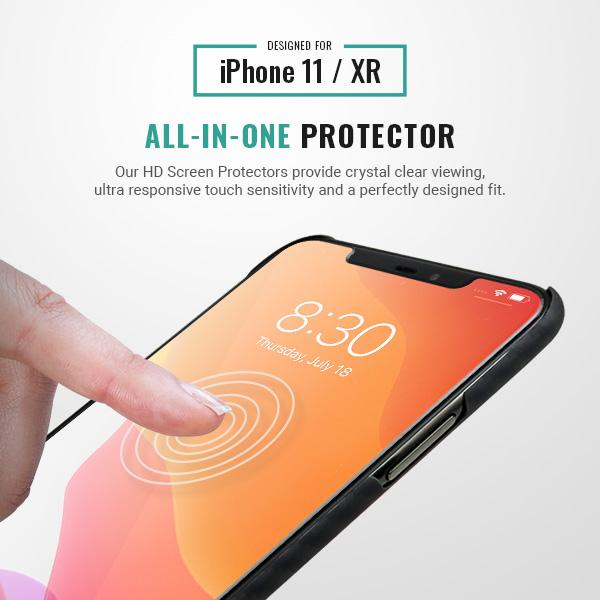 iphone 11 HD screen protector 9H Pur Carbon