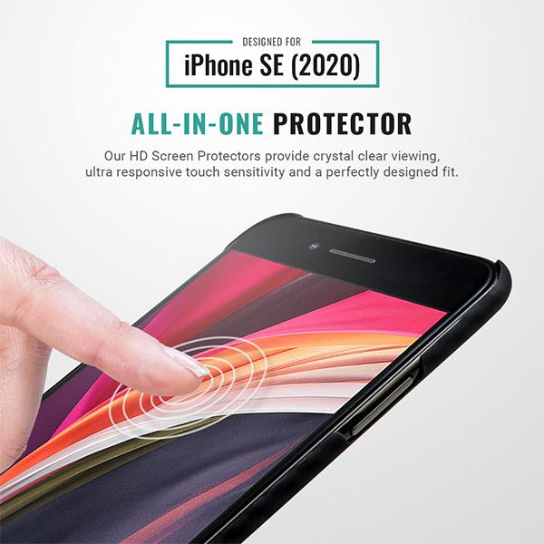 iphone SE HD screen protector 9H Pur Carbon