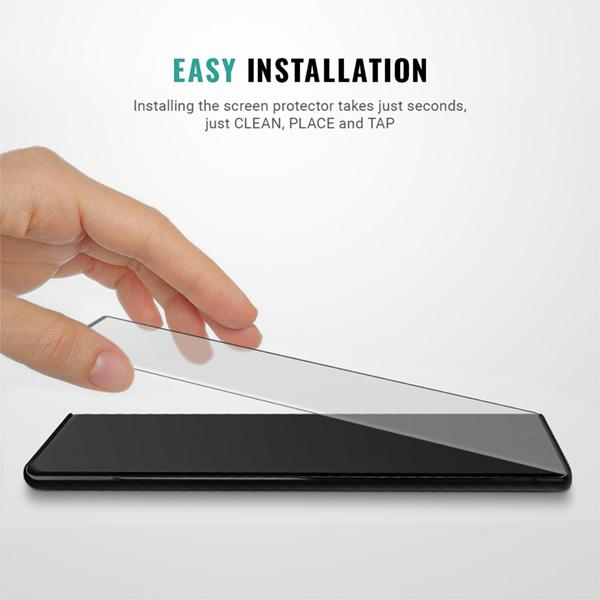 Easy installation Samsung Galaxy Note 10 screen protector kit Pur Carbon