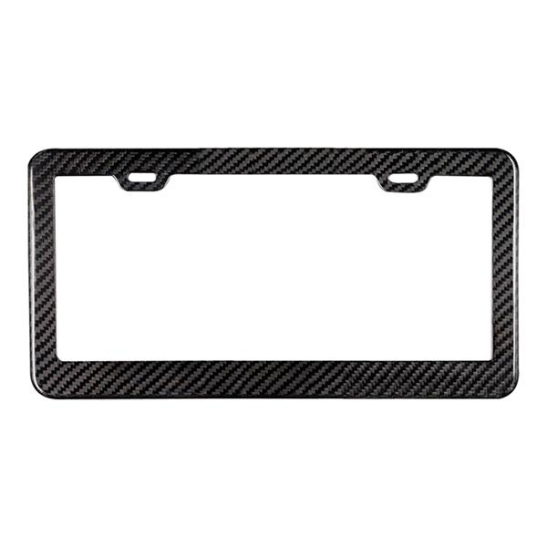 Real Carbon Fiber License Plate Frame Pur Carbon