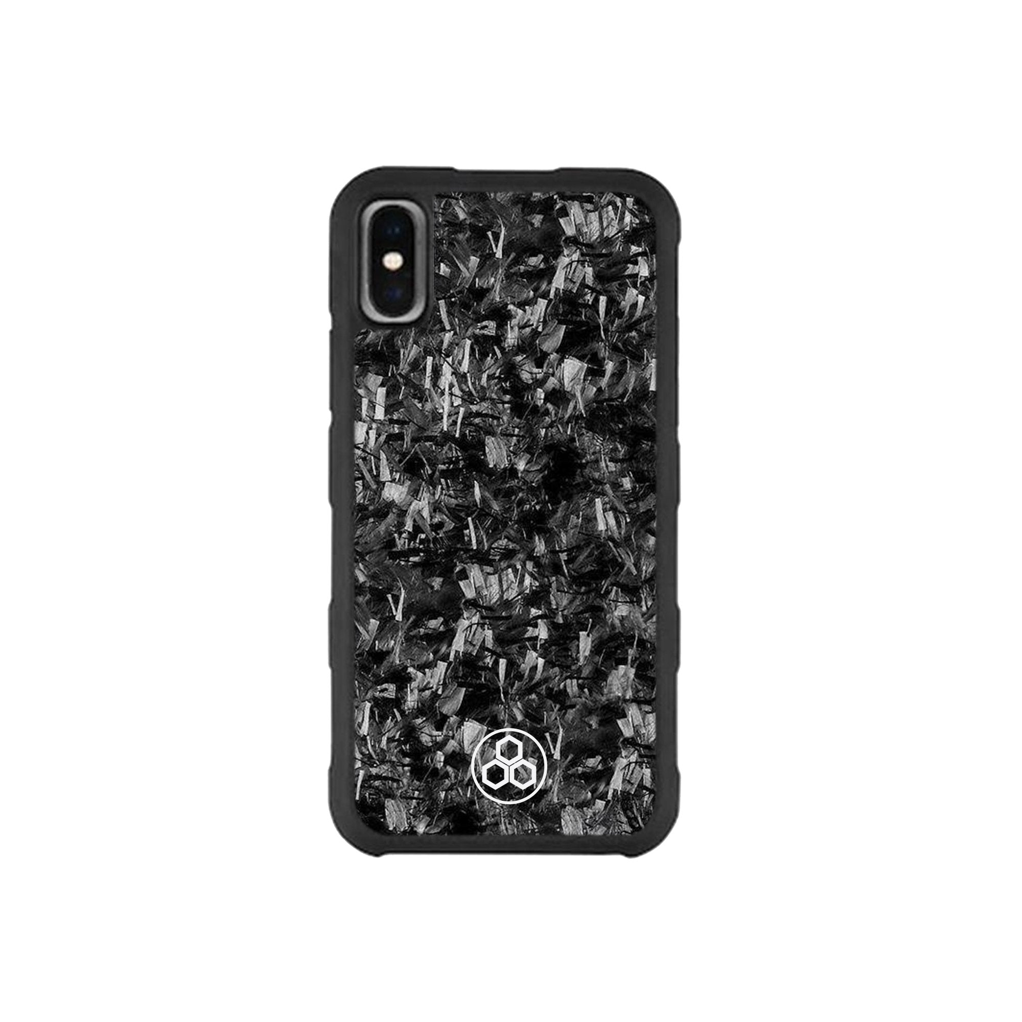 iPhone X & XS Real Forged Carbon Fiber Case | PURSHOCK
