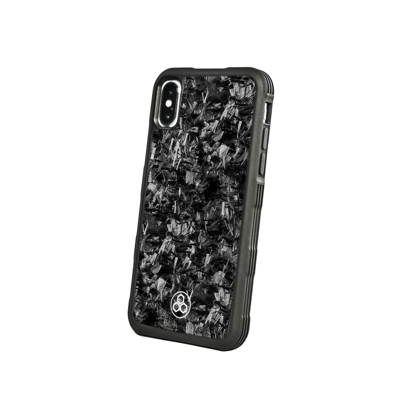 Real Forged Carbon Fiber iPhone X Case