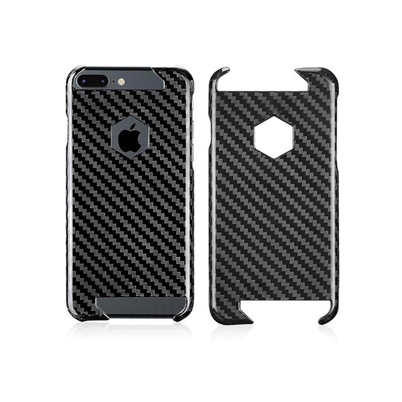 iPhone 7 & 8 PLUS Real Carbon Fiber Case | Hex Series Pur Carbon