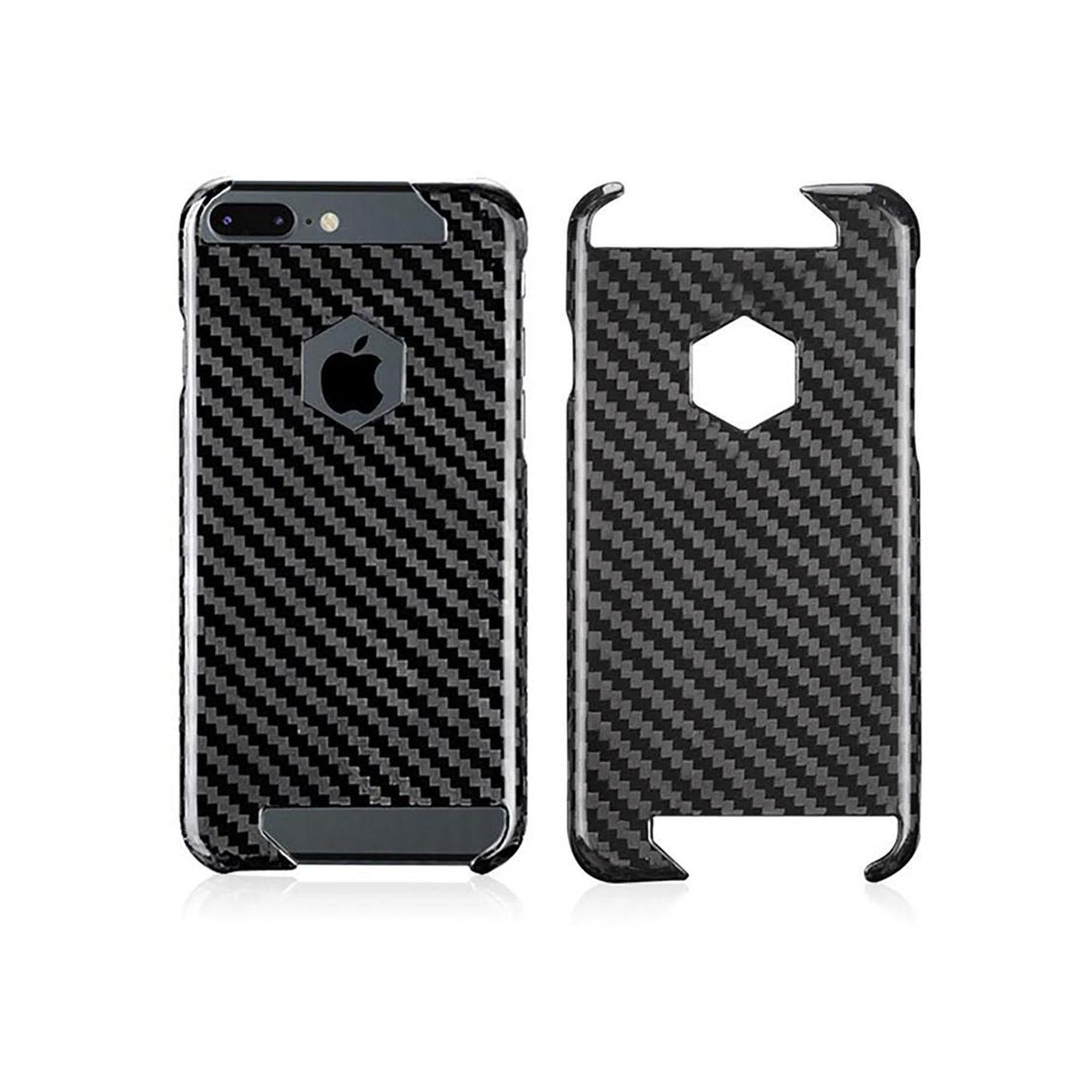 iPhone 7 & 8 Real Carbon Fiber Case | Hex Series Pur Carbon