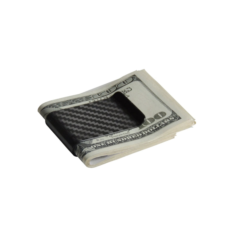 Real Carbon Fiber Money Clip Clips Pur Carbon