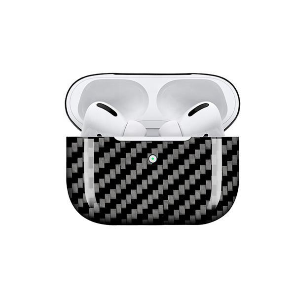 Real Carbon Fiber Apple Airpods Pro Case Pur Carbon GLOSS