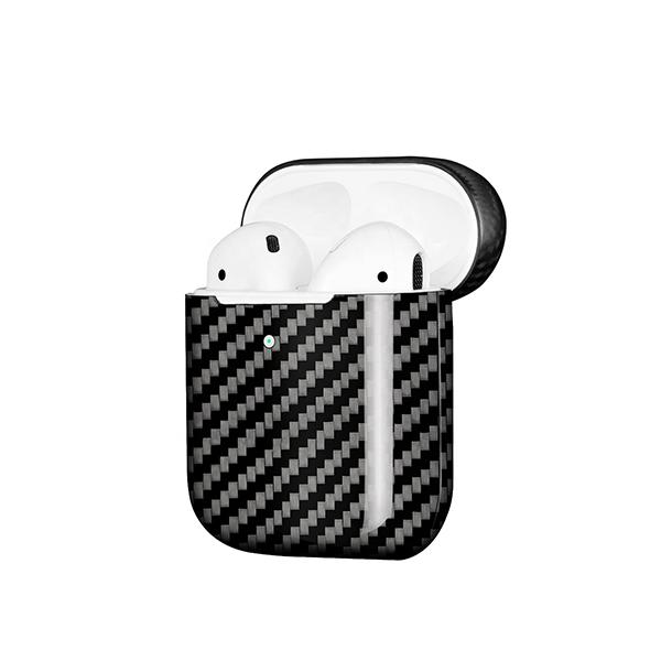 Real Carbon Fiber Case for Apple AirPods 2 Wireless Charging Pur Carbon