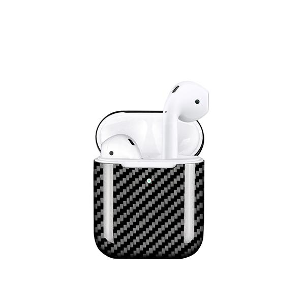 Apple AirPods 2 Wireless Charging Real Carbon Fiber Case Pur Carbon