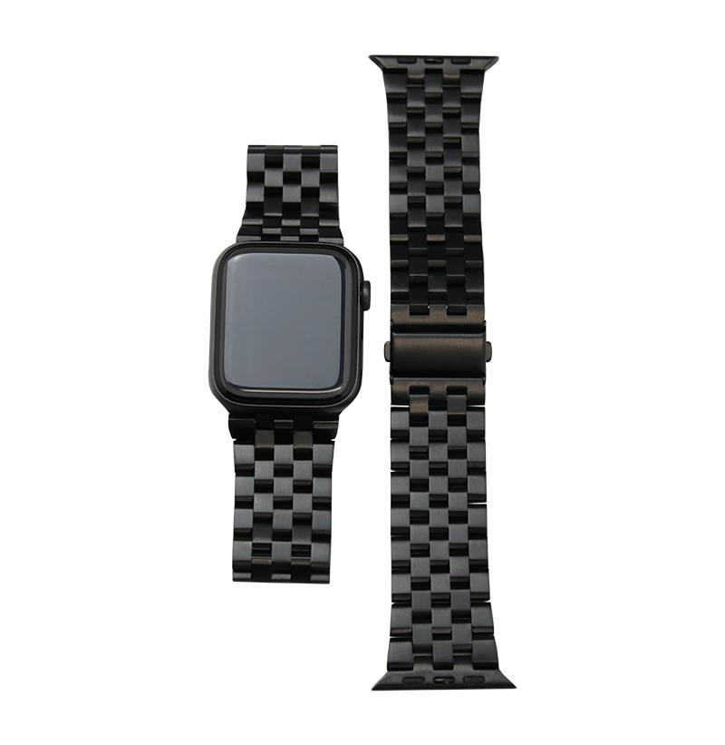 Carbon Steel Apple Watch Band (SERIES 1-6 & SE)