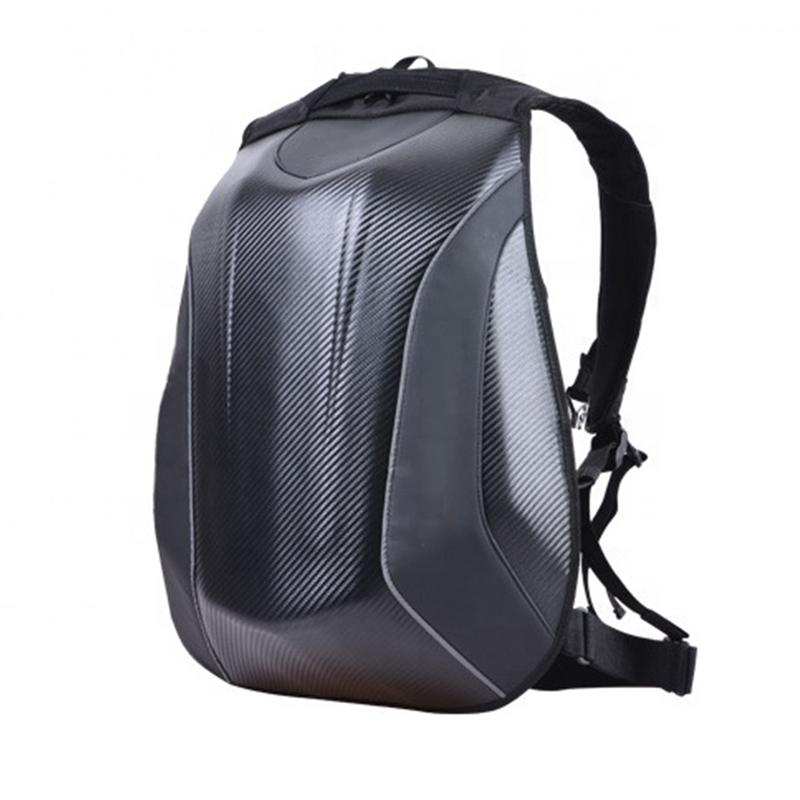 Carbon Fiber Moto Backpack Pur Carbon