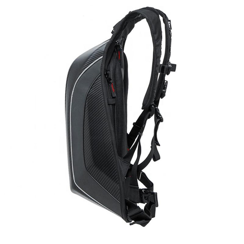 Moto Carbon Fiber Backpack Pur Carbon