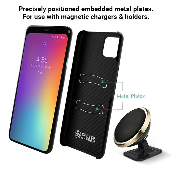 AraMag Case for Google Pixel 4XL Case Pur Carbon
