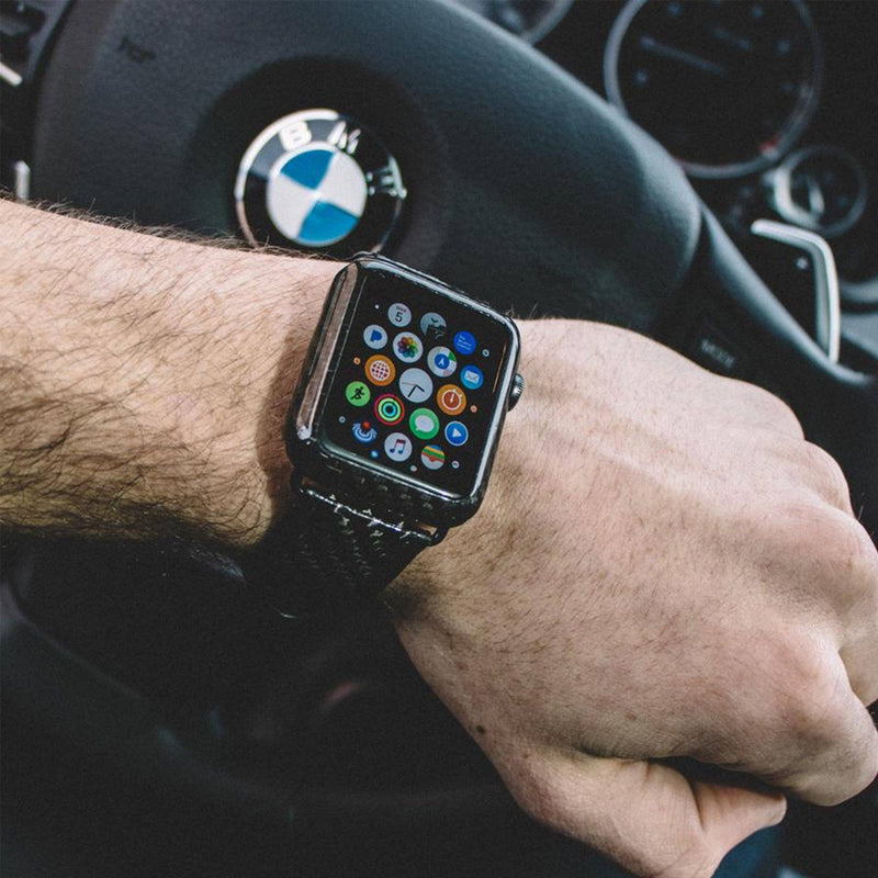 Carbon Fiber Apple Watch Cover 42mm (Matte & Gloss)
