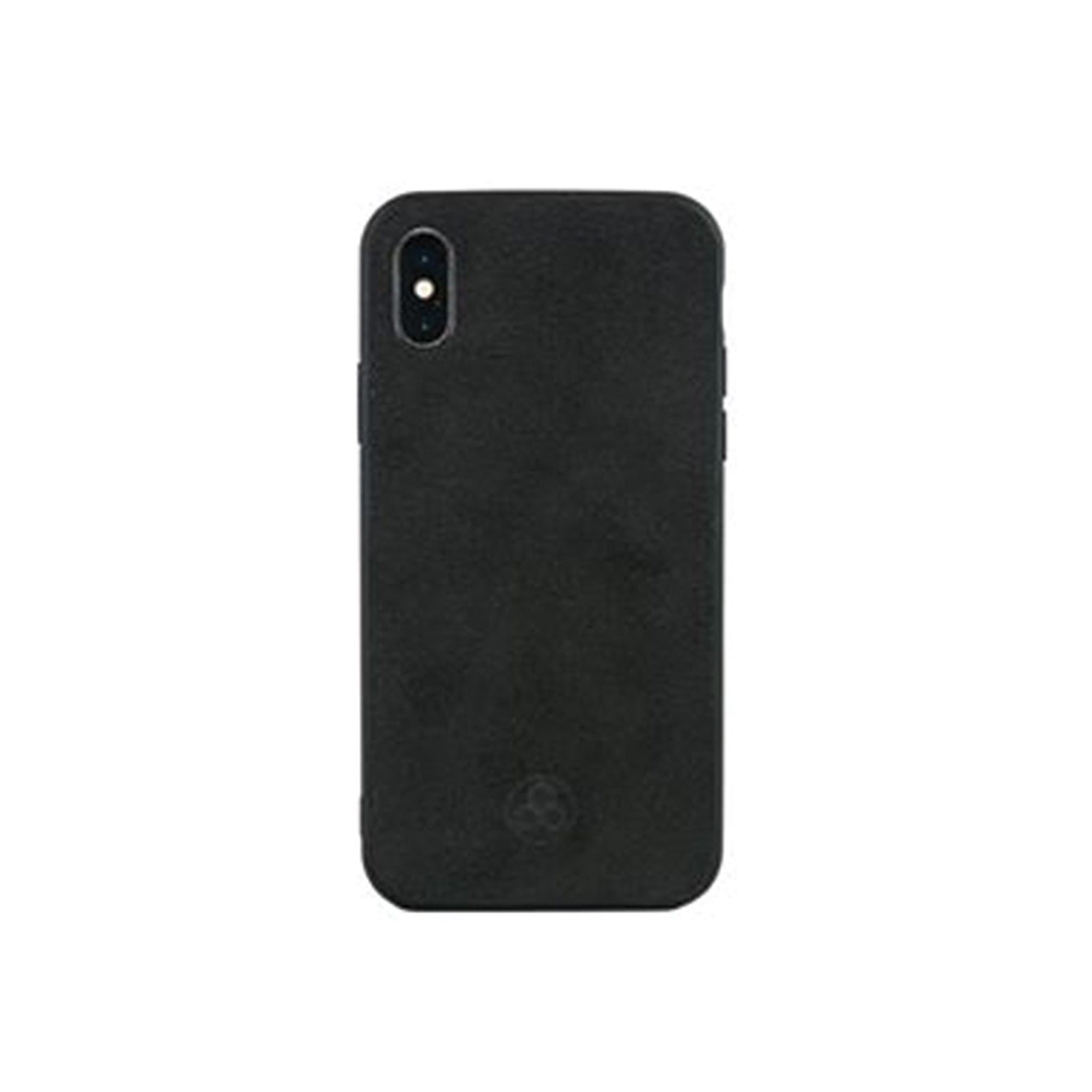 Alcantara iPhone X Case Pur Carbon