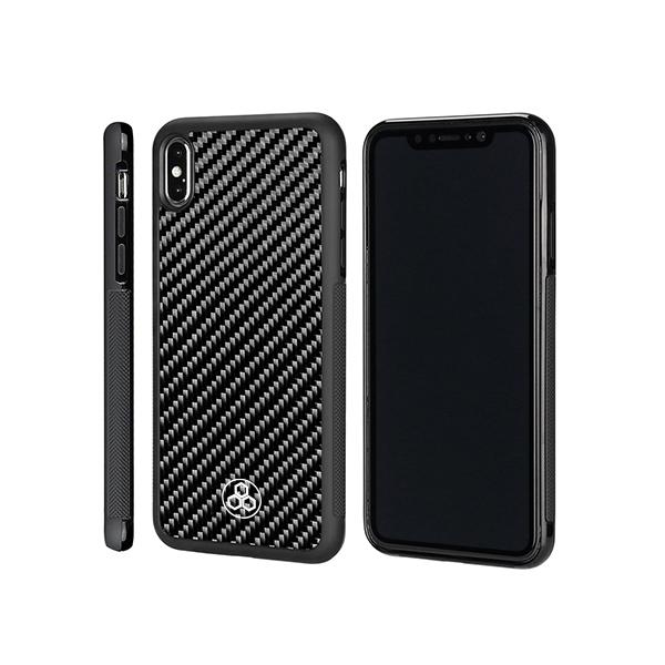 Real Carbon Fiber iPhone XS Max Phone Case Pur Carbon