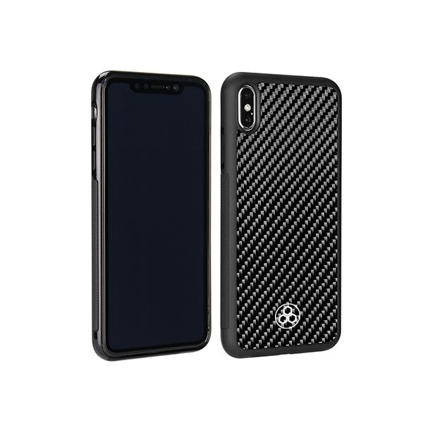 iPhone XS Max Real Carbon Fiber Phone Case Pur Carbon
