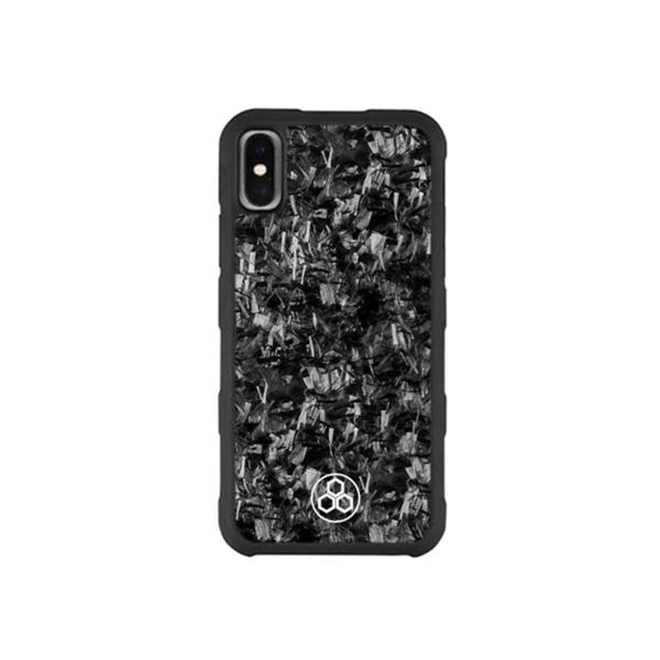 Real Forged Carbon Fiber Phone Case Iphone XS Max Pur Carbon