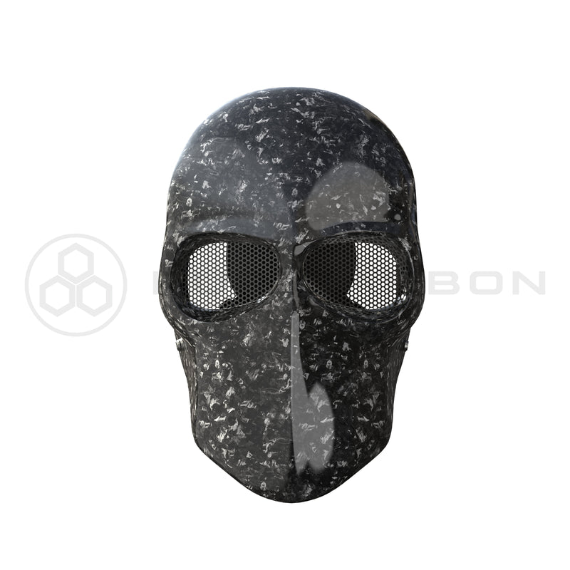 Army Of 2 Mask Real Forged Carbon Fiber