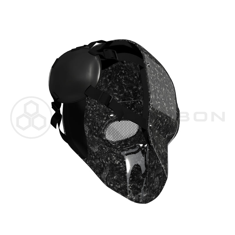 Army of 2 Forged Carbon Fiber Mask