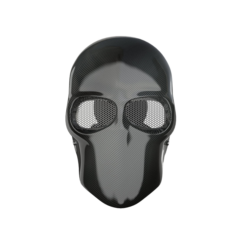 Army Of 2 Mask Real Carbon Fiber